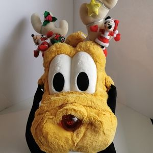 🦄 Pluto Holiday Hat, from Disney World.